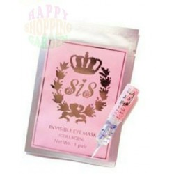 Sis Invisible Eye Mask(Collagen)+Platinum Grape seed Eye gel